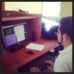 The new anonymous intern launching his very first Gaussian calculation - aww