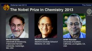 Nobel Laureates in Chemistry 2013 (source: NBC.com)