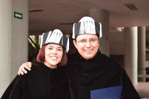 My good friend Dr. Paula García-Reynaldos and I