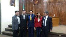Dr. Antonio Romo, Me, Durbis, Dr. Nelly Gonzalez, Dr. Moises Romero